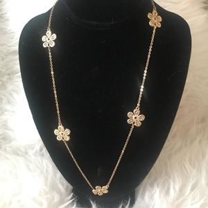🦄5 for $10!!!🦄 Long Flower Necklace
